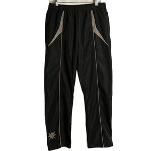 Daily Paper Black Reflective Track Pants Size M